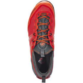 Mammut M's Alnasca Knit Low Shoes dark orange-graphite
